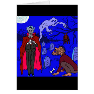 Halloween Invitation by DAL Greeting Card