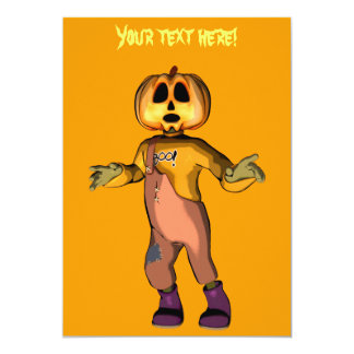 Halloween Invitation, customizable text 13 Cm X 18 Cm Invitation Card