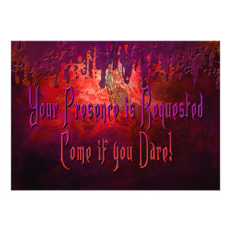 HALLOWEEN INVITATION - FRIGHTENING COOL