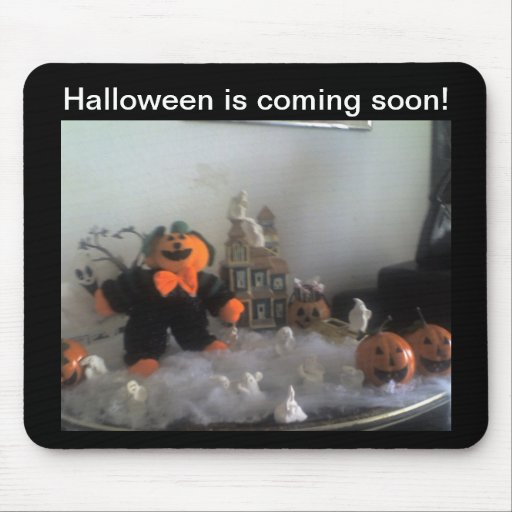 Halloween is Coming soon!  Mousepad