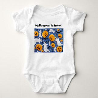 Halloween is here baby bodysuit