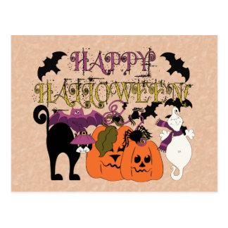 Halloween is here postcard