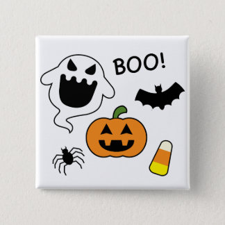Halloween Items 15 Cm Square Badge