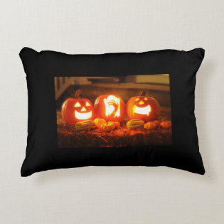 Halloween Jack O Lantern Accent Pillow