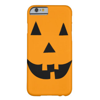 Halloween Jack O Lantern Barely There iPhone 6 Case
