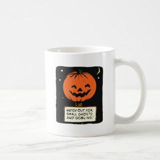 Halloween Jack-o-Lantern Basic White Mug
