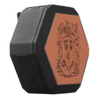 Halloween Jack O' Lantern Black Bluetooth Speaker