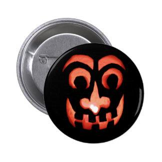 Halloween Jack-O-Lantern Button