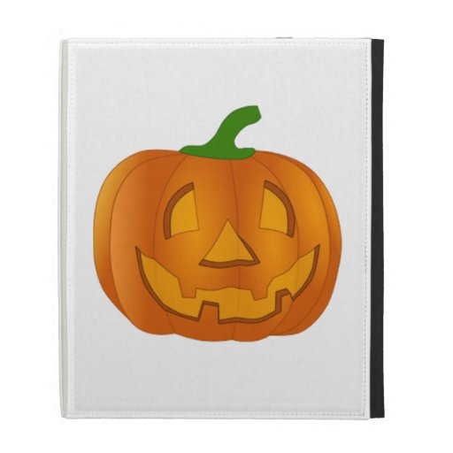 Halloween Jack-O-Lantern iPad Folio Covers