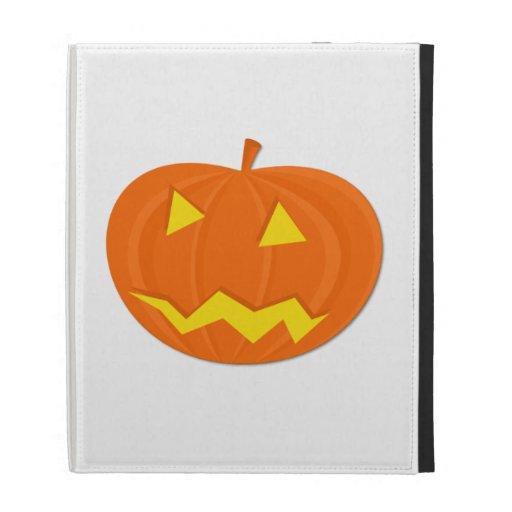 Halloween Jack-o-Lantern iPad Cases