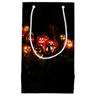 Halloween Jack O Lantern Gathering Gift Bag