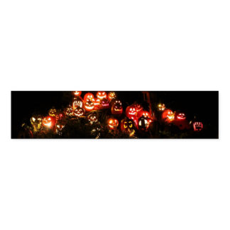 Halloween Jack O Lantern Gathering Napkin Bands