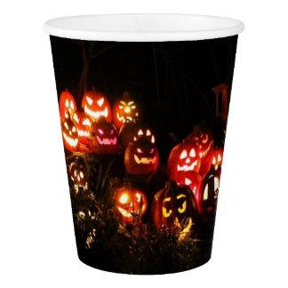 Halloween Jack O Lantern Gathering Paper Cup