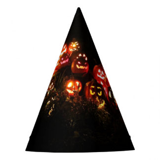 Halloween Jack O Lantern Gathering Party Hat