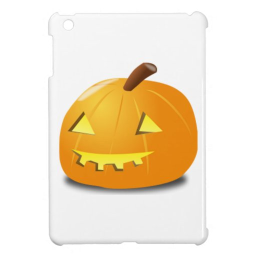 Halloween Jack-o-Lantern Case For The iPad Mini