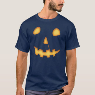 Halloween Jack-O-Lantern (on black) T-Shirt