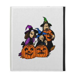 Halloween Jack-o-Lantern Pumpkin iPad Folio Cover