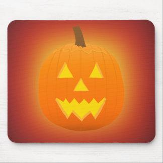 Halloween: Jack-O-Lantern: Pumpkin: Mousepad