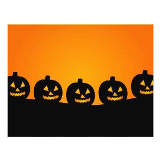 Halloween Jack-O-Lantern Pumpkin Patch Parade Flyer Design