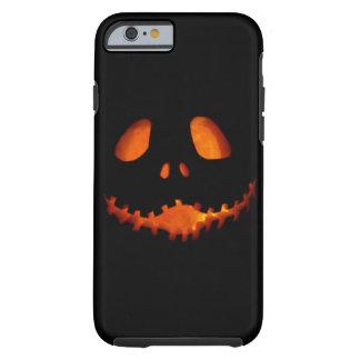 Halloween Jack-o-Lantern Skeleton Grin Tough iPhone 6 Case