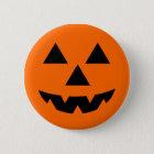 Halloween Jack-O-Lantern Trick or Treat 6 Cm Round Badge