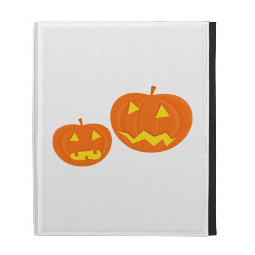 Halloween Jack-O-Lanterns iPad Folio Cases