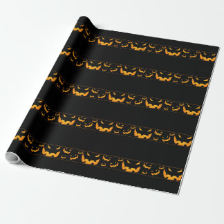 Halloween Jack-O-Lanterns Wrapping Paper