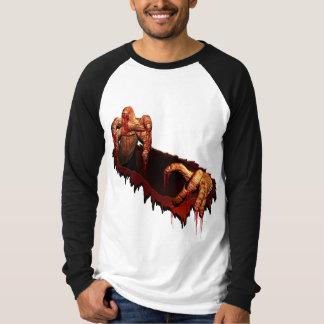 Halloween Jersey Shirt Horror Gory Zombie Shirt