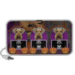 Halloween - Just a Lil Spooky - Airedale Mini Speaker