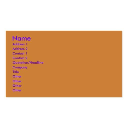 Halloween - Just a Lil Spooky - Australian Terrier Business Card Template