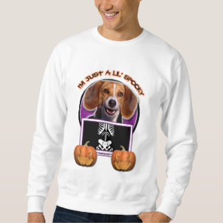 Halloween - Just a Lil Spooky - Beagle Sweatshirt