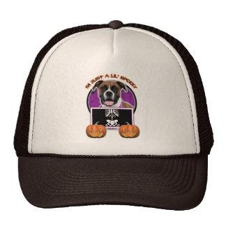 Halloween - Just a Lil Spooky - Boxer - Vindy Trucker Hat