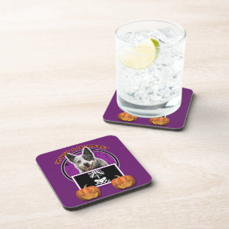 Halloween - Just a Lil Spooky - Cattle Dog Drink Coaster