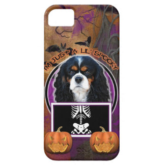 Halloween - Just a Lil Spooky - Cavalier - Tri-col iPhone 5 Case