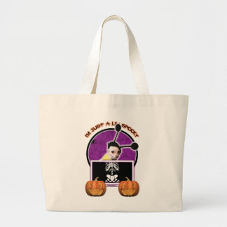 Halloween - Just a Lil Spooky - Cheagle - Izzy Tote Bags