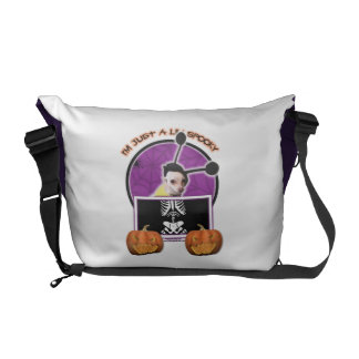 Halloween - Just a Lil Spooky - Cheagle - Izzy Commuter Bag