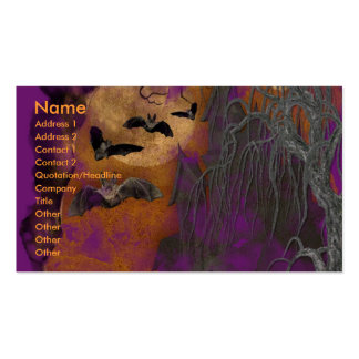 Halloween - Just a Lil Spooky - Frenchie - Teal Pack Of Standard Business Cards
