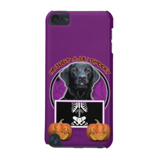Halloween - Just a Lil Spooky - Labrador - Black iPod Touch (5th Generation) Case