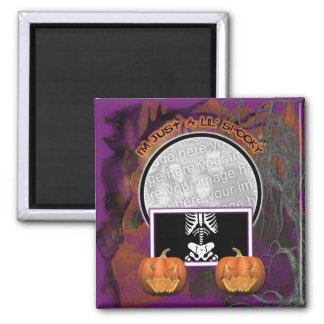 Halloween - Just a Lil Spooky Magnet