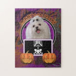 Halloween - Just a Lil Spooky - Maltese Jigsaw Puzzles