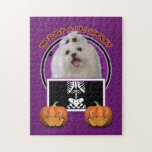 Halloween - Just a Lil Spooky - Maltese Puzzle