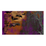 Halloween - Just a Lil Spooky - Pitbull JerseyGirl Pack Of Standard Business Cards