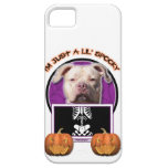 Halloween - Just a Lil Spooky - Pitbull JerseyGirl iPhone 5 Case
