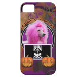 Halloween - Just a Lil Spooky - Poodle - Pink