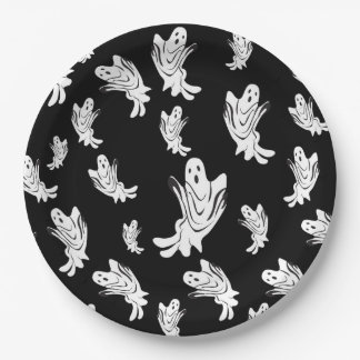 Halloween - Just Ghostly - All Sizes Paper Plate