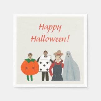 Halloween Kids Costumes Pumpkin Dice etc. Napkins Disposable Napkins