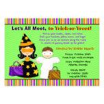 Halloween Kids Halloween Trick or Treat Party Custom Invite