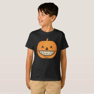 Halloween Kids Shirt Pumpkin with Perfect Teeth