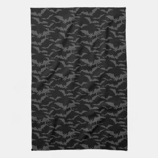 Halloween Kitchen Towel-Bats Tea Towel