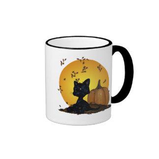 Halloween Kitten mug